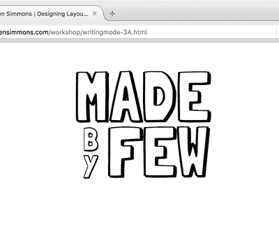 Web Design Experiments by Jen Simmons