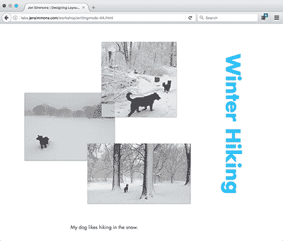 Web Design Experiments by Jen Simmons